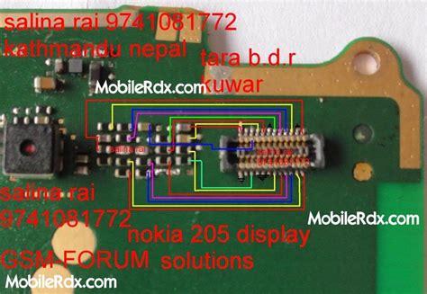 Lcd Hp Nokia Asha 205 nokia asha 205 display ways light problem solution