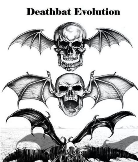Avenged Sevenfold Deathbat 131 best images about a7x fan wallpapers on