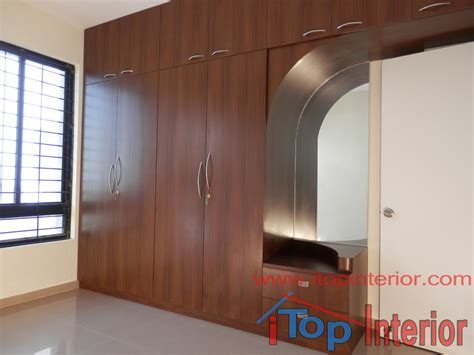 dressing wardrobe wardrobe with side dressing table itop interior bangalore