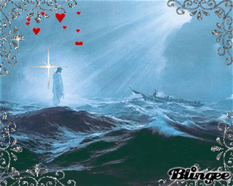 Miracle In The Wilderness 1992 Free Our Lord And Saviour Jesus Walk On Water Picture 122864522 Blingee