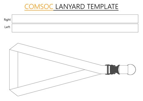 lanyard design template computer society comsoc lanyard template by