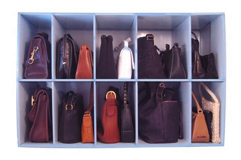 How To Organise Bags In Closet by 11 Ways To Organize Your Purse Organizing Made 11