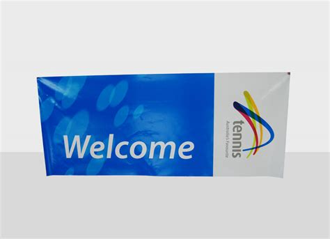buy custom outdoor banner 2x1m with eyelets and ropes