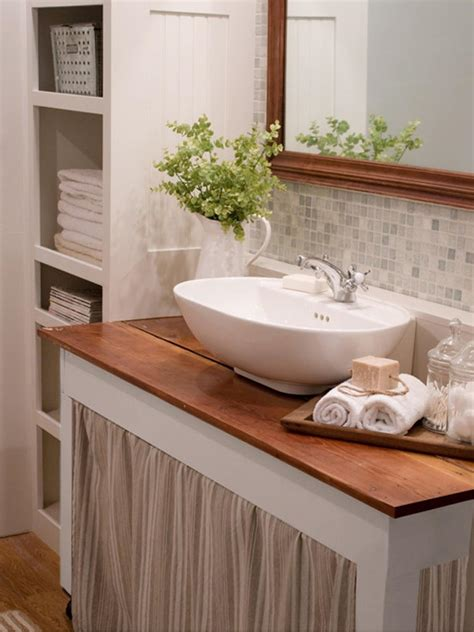 small country bathroom decorating ideas 20 small bathroom design ideas bathroom ideas designs hgtv