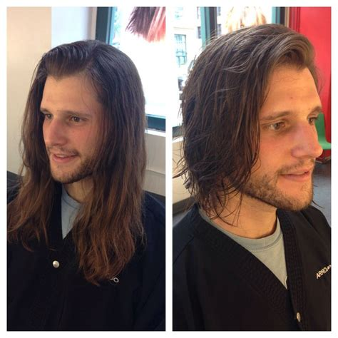 long hair to short hair men before and after 17 best images about haircut portfolio on pinterest