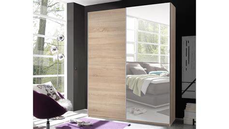 kleiderschrank breite 170 cm schwebet 252 renschrank 2 in eiche sonoma mit spiegel