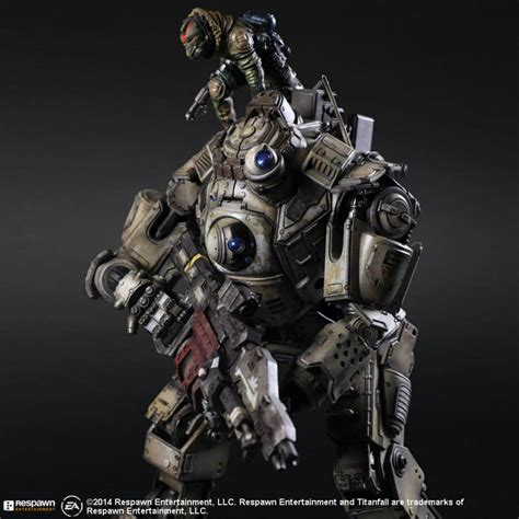 Play Arts Titanfall Atlas 0riginal play arts atlas from titanfall official images