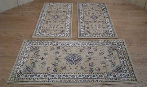 scendiletto persiani w526 tappeti classici letto 3 pezzi parure trio