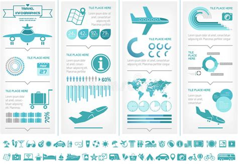 Travel Infographic Template Stock Images Image 35258334 Travel Infographic Template