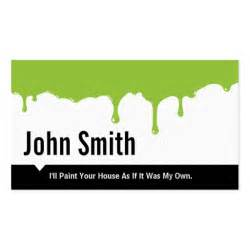 paint business cards green paint painting business card zazzle