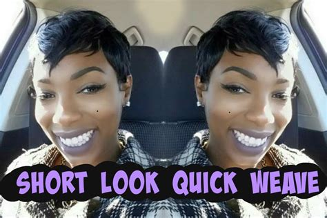 39 piece hair slay the short look quick weave invisible part milkyway