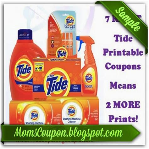 tide printable coupons march 2015 tide coupons free printable and coupon on pinterest