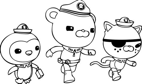 free coloring octonauts coloring pages best coloring pages for