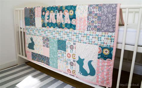quilt design mit silhouette projektergebnis babydecke