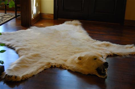 bare skin rug polar skin rug new price