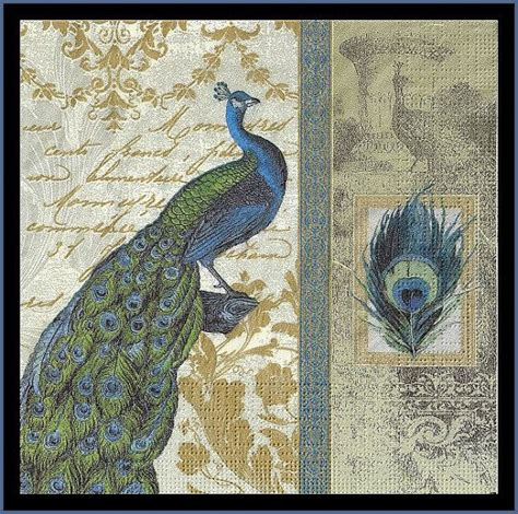 Tisu Motif Napkin Decoupage 30 4 peacock decoupage paper napkins scrapbooking paper fancy napkins design napkins mixed media