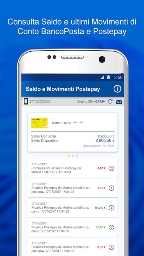 poste mobili ricarica postemobile android apps on play