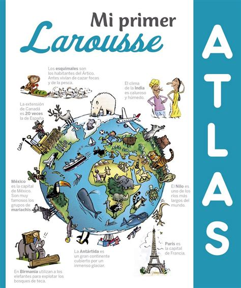 mi primer atlas larousse librer 237 a desnivel mi primer atlas larousse vv aa