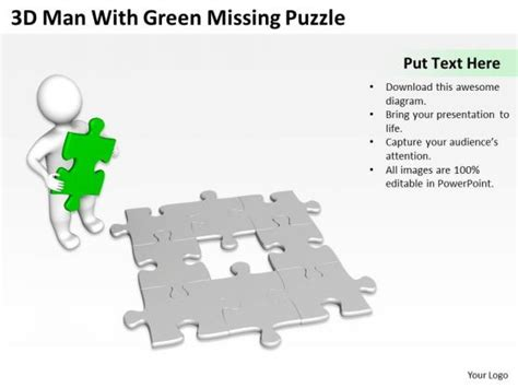 missing puzzle powerpoint template backgrounds business use case diagram exle missing puzzle