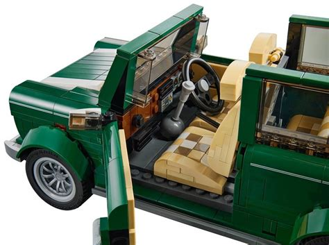 lego mini cooper interior lego mini cooper 10242 set up for order photos bricks