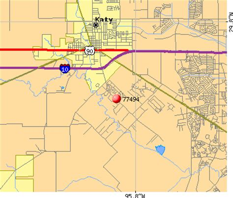 katy zip code map texas 77494 zip code detailed profile images frompo
