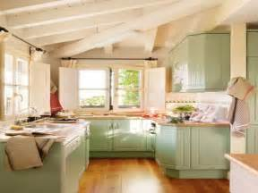Ideas To Paint Kitchen Cabinets Pics Photos Photo 07 Painted Kitchen Cabinet Ideas