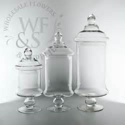 glass cylinder jar vases with lids 12 quot h wholesale