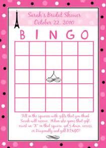 24 personalized bridal shower bingo cards style