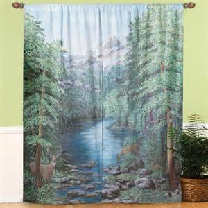 Scenery Window Curtains Window Curtains Scenic Window Curtains Curtains Walter