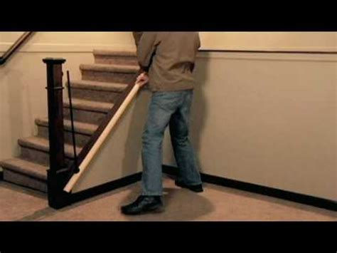 Install Banister by How To Install A Stair Simple Axxys Stair Kit