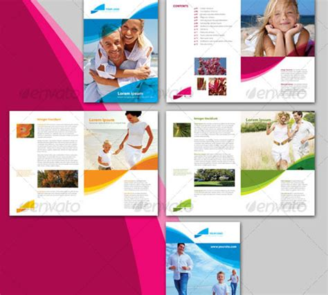 brochure template for pages 45 creative premium brochure template designs 56pixels
