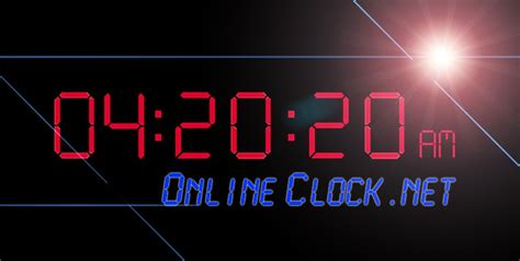 Online Clock | online alarm clock