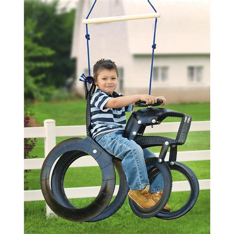 tractor supply tire swing tractor tire swing 188529 toys at sportsman s guide