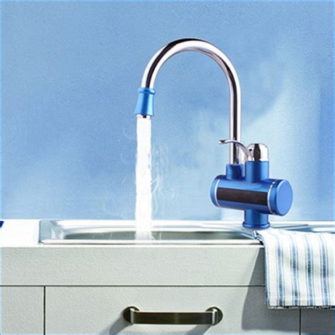 instant water kitchen sink sidon kitchen sink faucet with tankless water heater