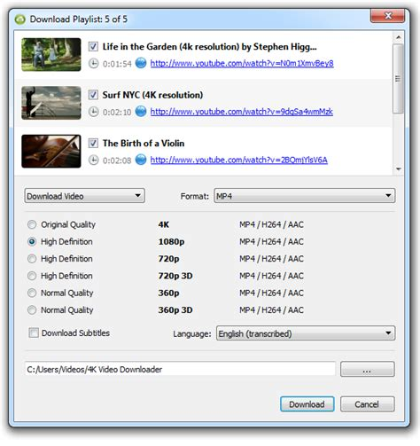 download youtube playlist video how to download youtube playlist 4k download