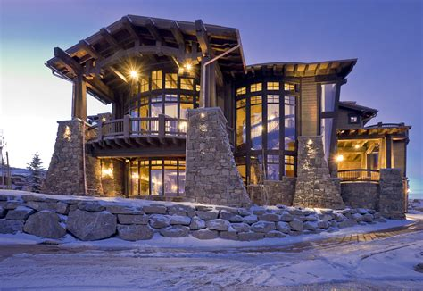 dream houses ski magazine dream home midway construction