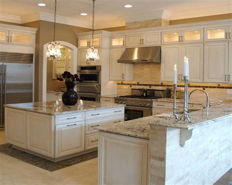 granite that goes with white kitchen cabinets bianco antico granite countertop white cabinets