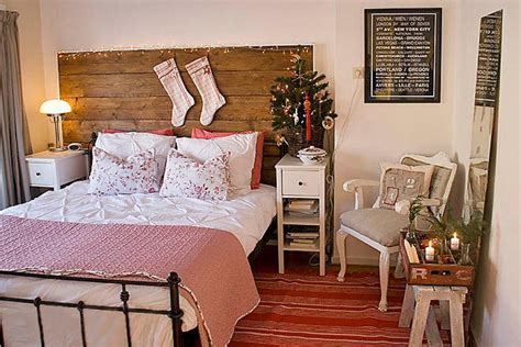 diy decorate your bedroom coastal and cottage style christmas decorations diy