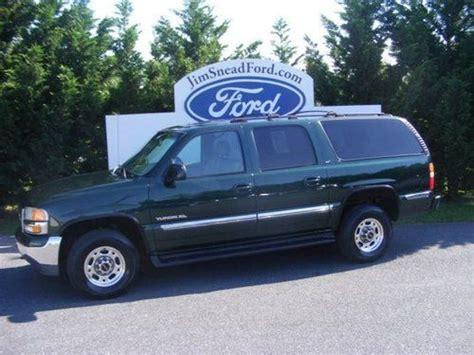 airbag deployment 2001 gmc yukon xl 2500 interior lighting buy used 2001 gmc yukon xl 2500 slt sport utility 4 door 6 0l in waynesboro virginia united states