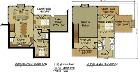 3 Bedroom Craftsman Cottage House Plan With Porches Cottage House Designs And Floor Plans