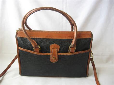 Dooney Bourke Dooney And Bourke by Vintage Dooney And Bourke Handbag Satchel Bag Leather
