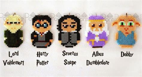 bead characters harry potter characters hama by pontipixel noahs