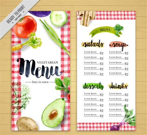 free food menu template 50 free psd restaurant flyer menu templates