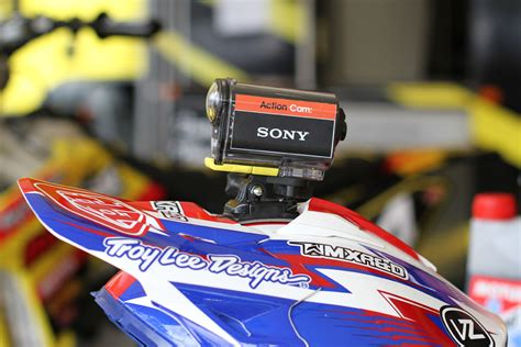 motocross helmet camera product sony hdras100vr action cam motoonline com au