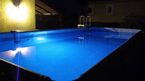 beleuchtung pool intex pool led light eclairage piscine intex
