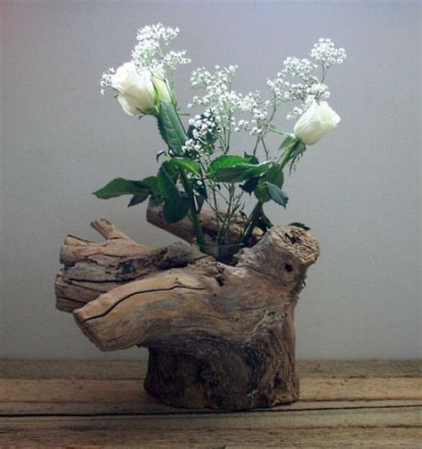 Driftwood Vase by S Driftwood Furniture