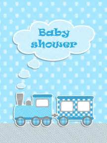 baby shower for boy with scrapbook elements stock vector