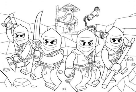 ninjago samurai coloring page coloriage et dessin de ninjago 224 imprimer