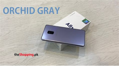 Samsung A8 2018 Orchid Gray samsung galaxy a8 orchid gray 2018