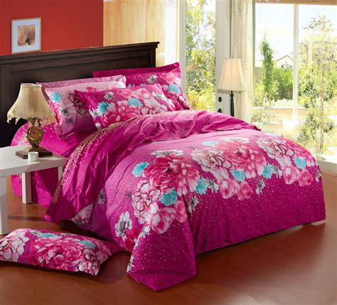 Bright Pink Comforter by Enchanting Bright Pink Bedding Fabulous Home Decor Ideas
